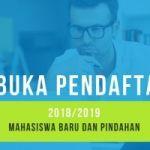 Membuka pendaftaran 2018 / 2019