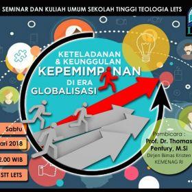Seminar dan Kuliah Umum