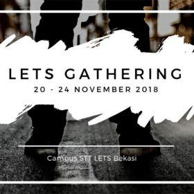 LETS Gathering 20 - 23 November 2018