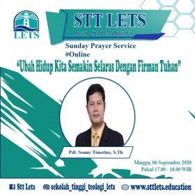 Ibadah Doa Online STT LETS