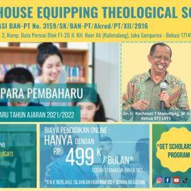 Pendaftaran Mahasiswa Baru 2021 / 2022